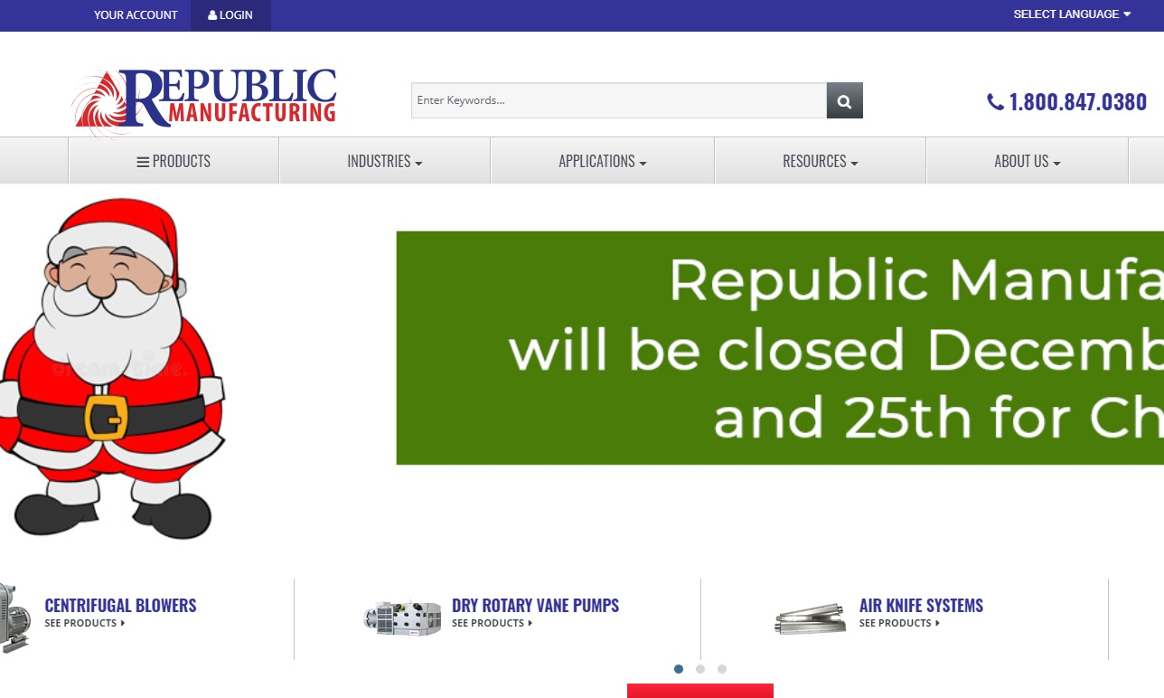 Republic Sales & Manufacturing®