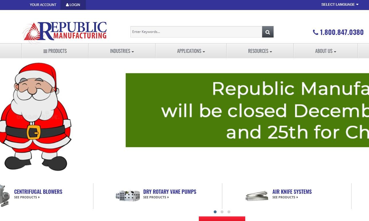 Republic Sales & Manufacturing®
