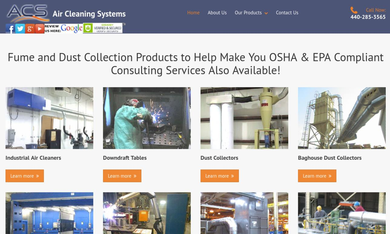Air Cleaning Systems, Inc.