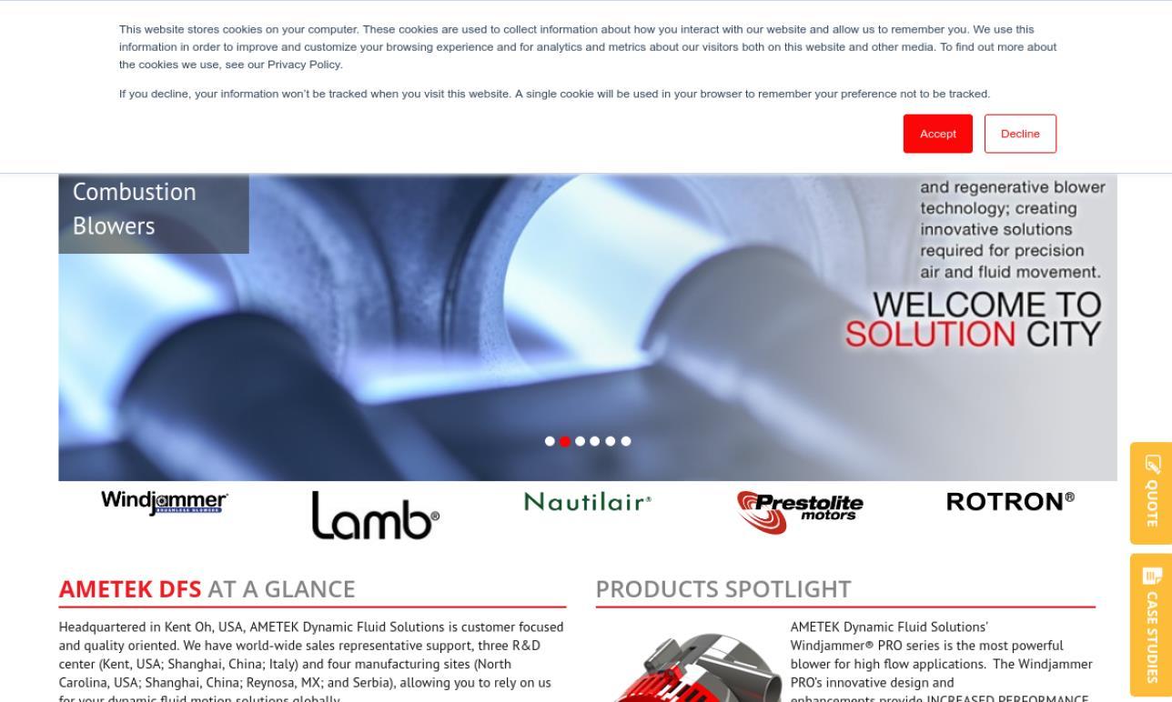 AMETEK® Lamb Electric