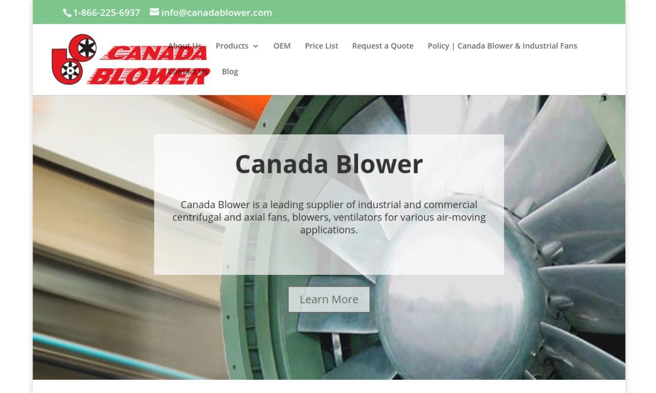 Canada Blower