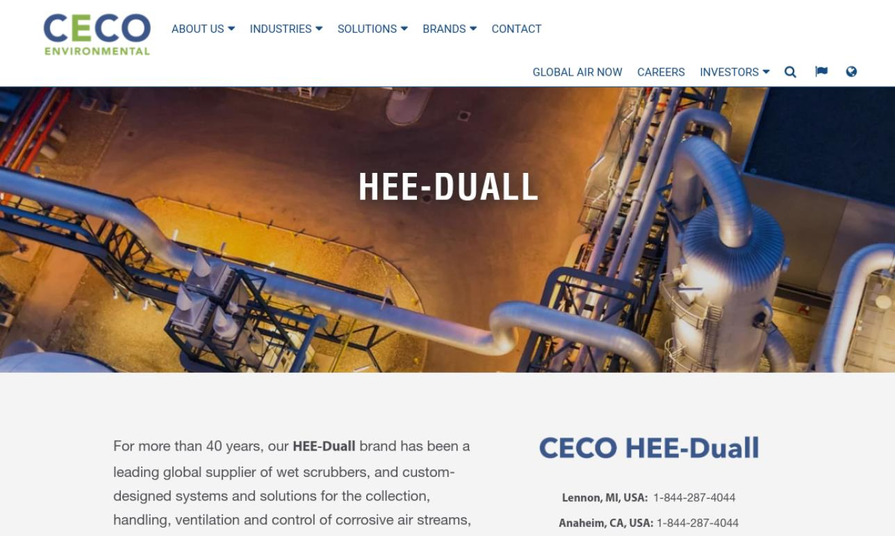 HEE-Duall, A CECO Environmental Company