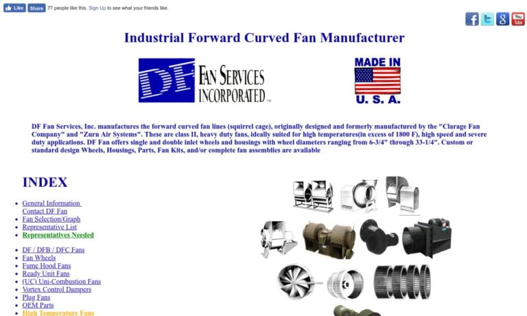 DF Fan Services, Inc.