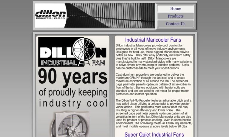 Dillon Industrial Fan Co.
