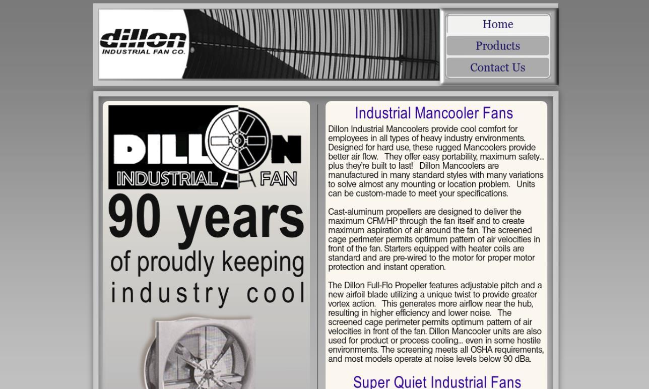 Dillon Industrial Fan Co.