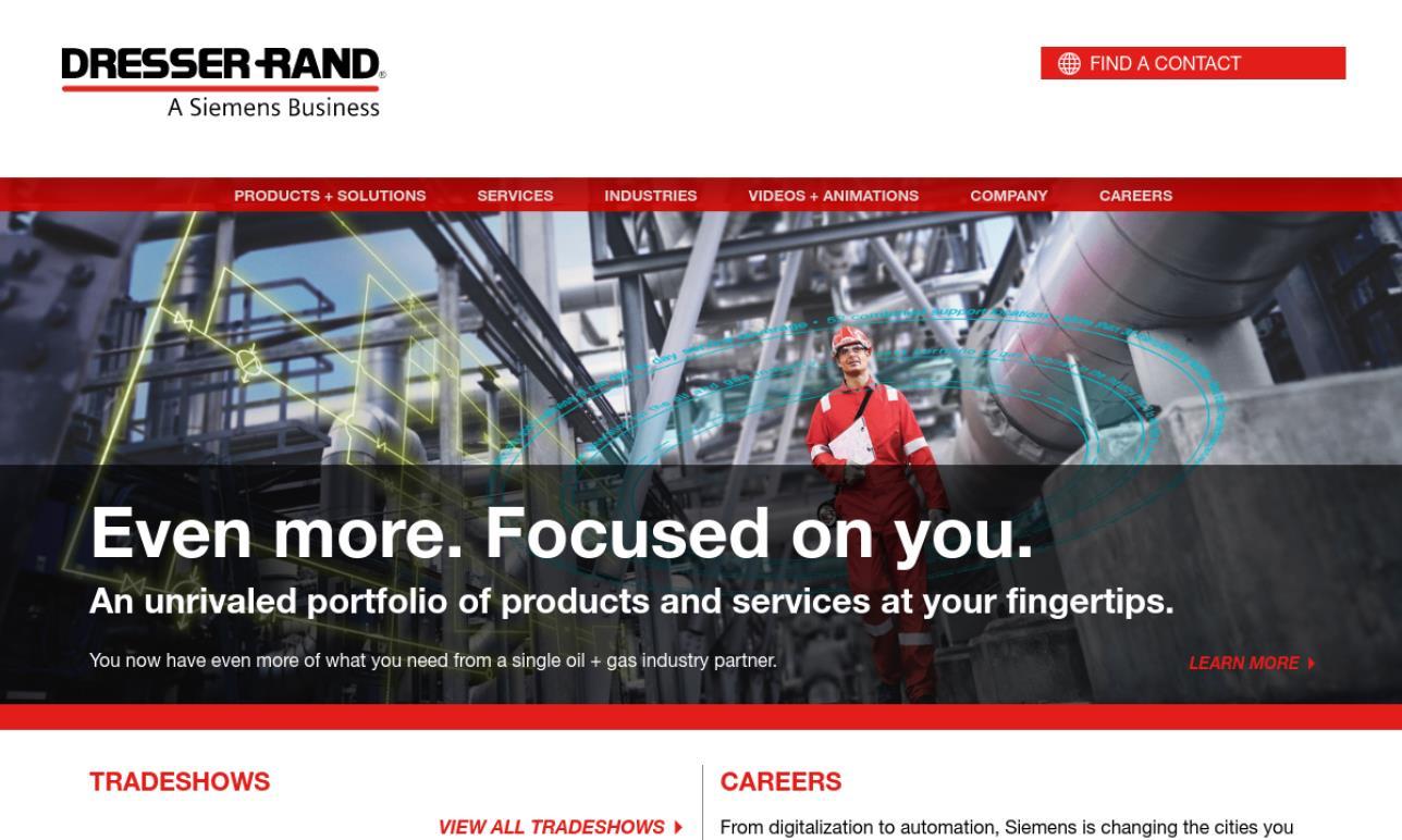 Dresser-Rand Steam Turbine Business Unit