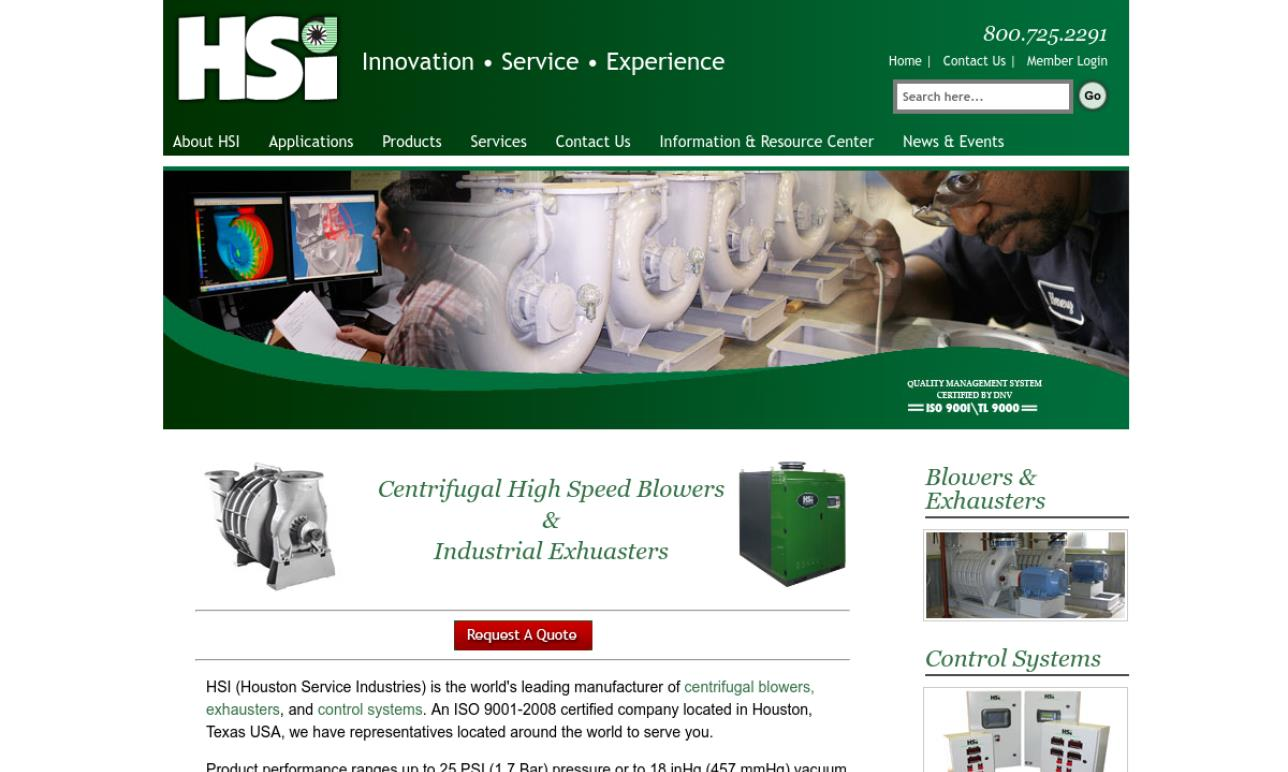 HSI - Houston Service Industries