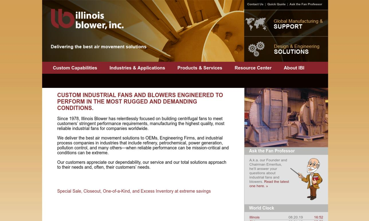 Illinois Blower, Inc.