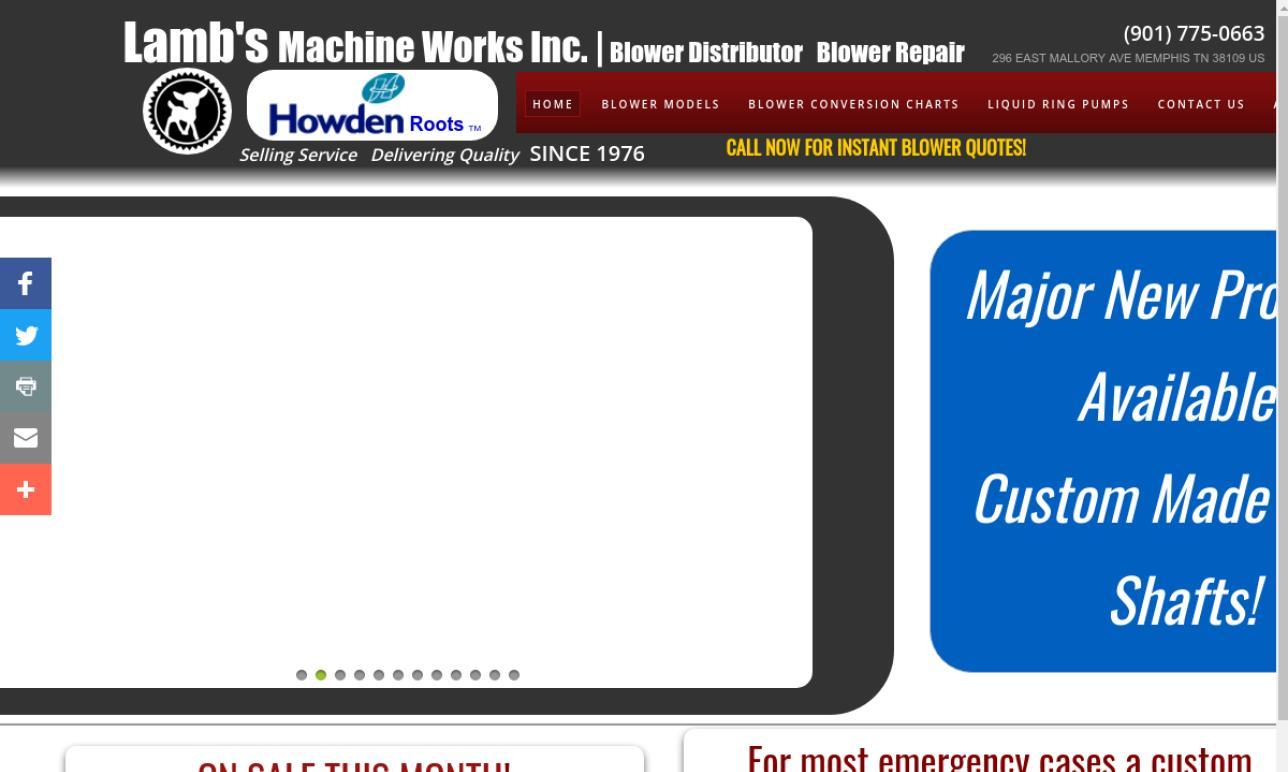 Lamb's Machine Works, Inc.