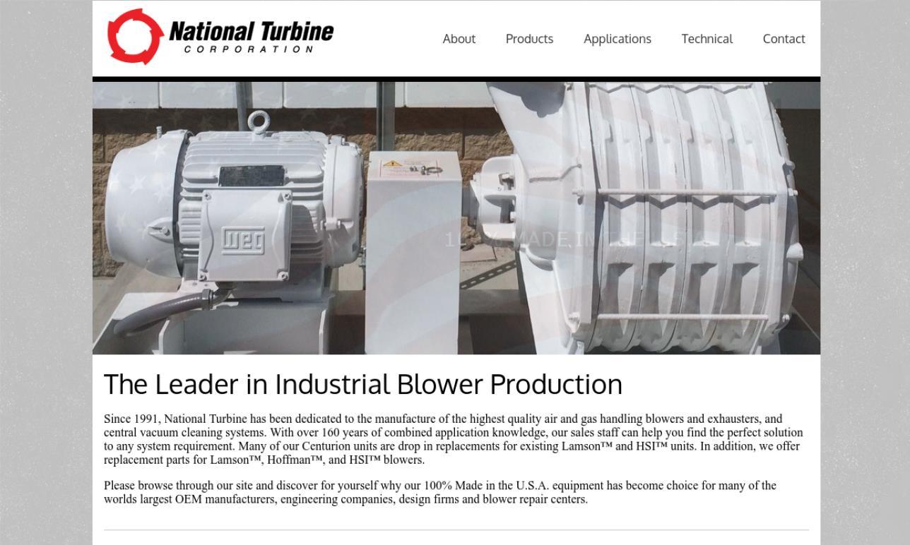 National Turbine Corporation