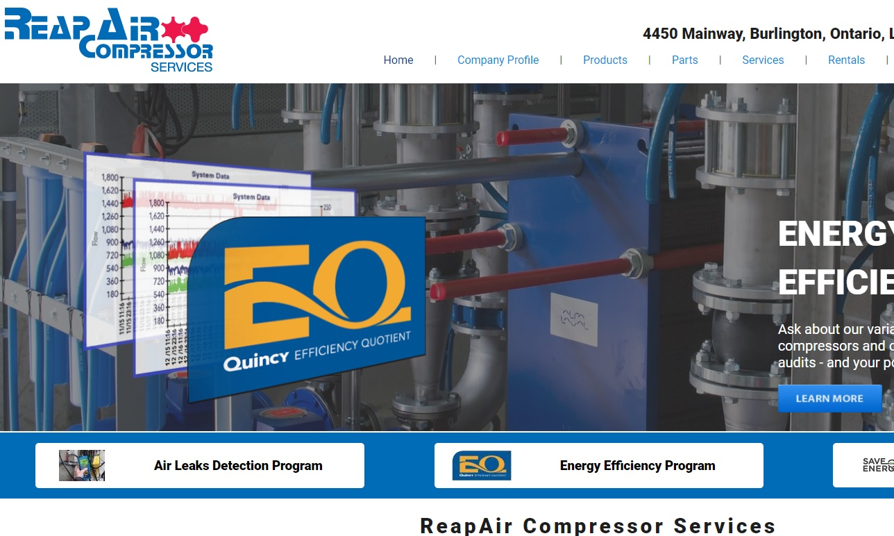 ReapAir Compressed Air Services Inc.