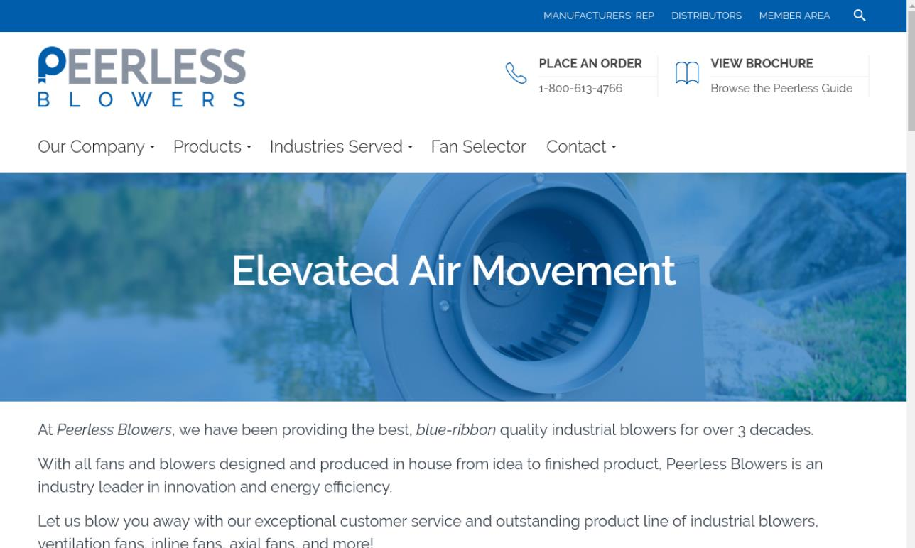 Peerless Blowers
