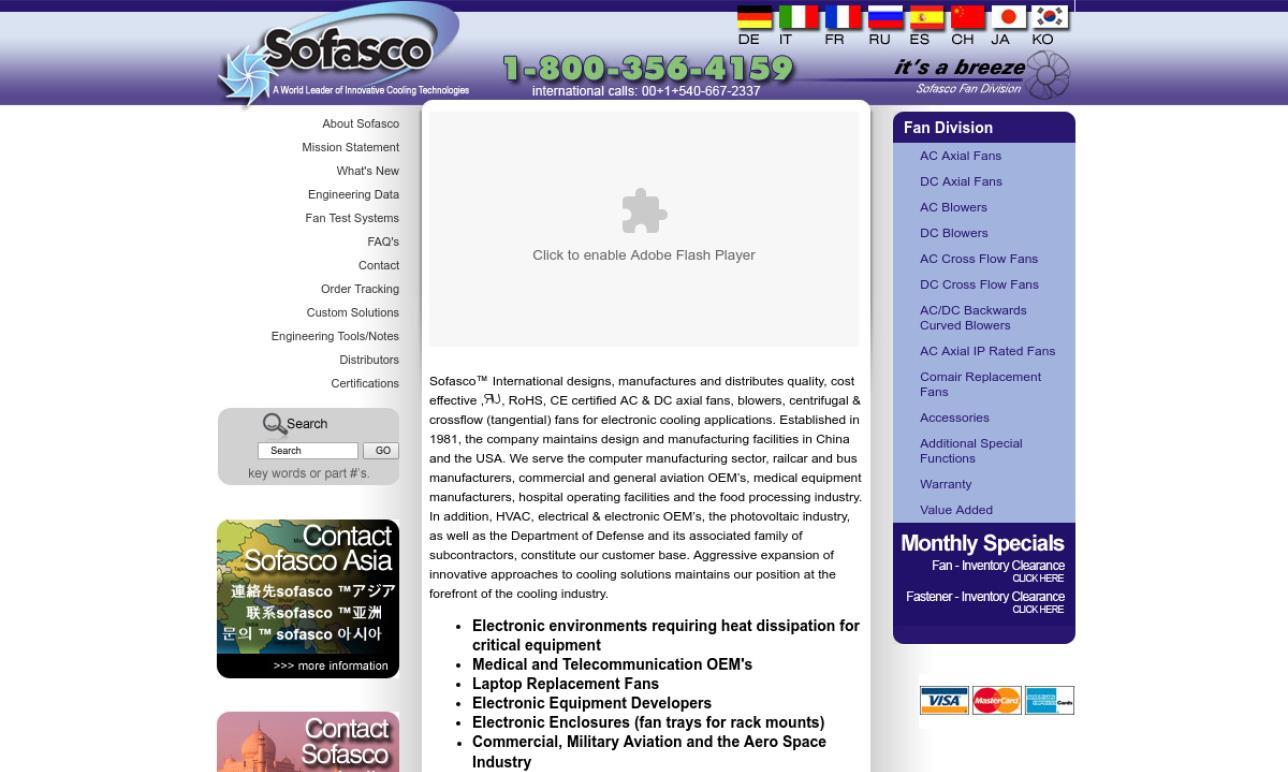 Sofasco, Inc.