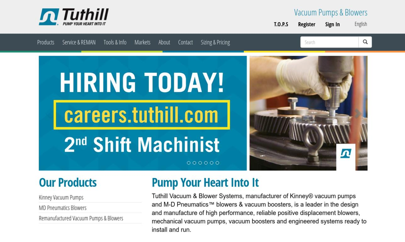 Tuthill Vacuum & Blower Systems