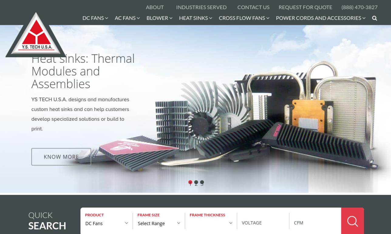 Y.S. Tech USA-Electronics Cooling Division